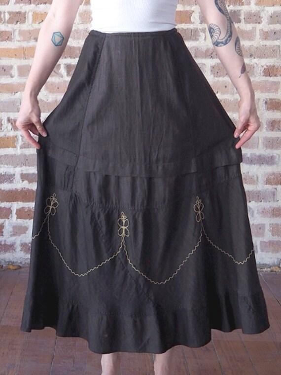 Victorian Prairie Skirt