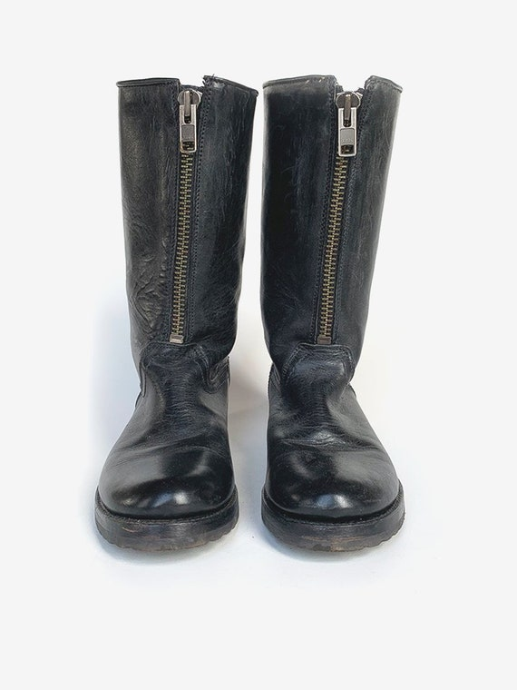 Frye' Black Leather Boots