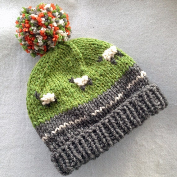 Pdf Knitting Pattern For A Super Chunky Campervan Beanie Etsy