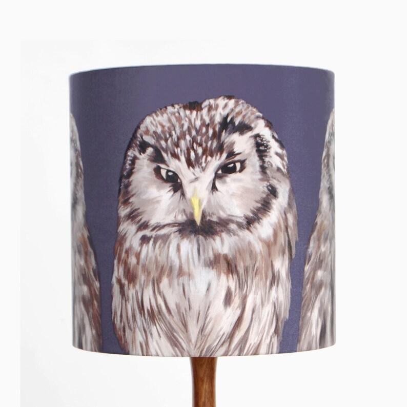 Owls Lampshade  20cm or 30cm diameter Small [20cm]