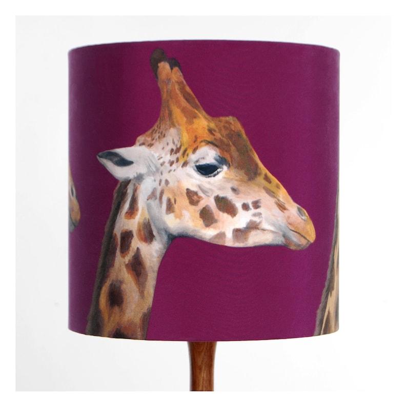 Giraffes Lampshade  20cm or 30cm diameter Small [20cm]