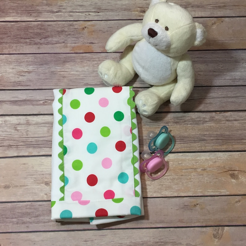 Gift from Grandma New Baby Gift Easter Set of 2 Baby Burp Cloths for a Baby Shower Gift Size: 13 x 18 Organic Burp Cloth