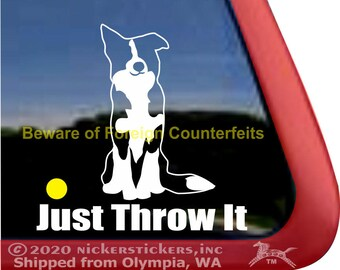We Herd EweHigh Quality Border Collie Dog Window Decal Sticker