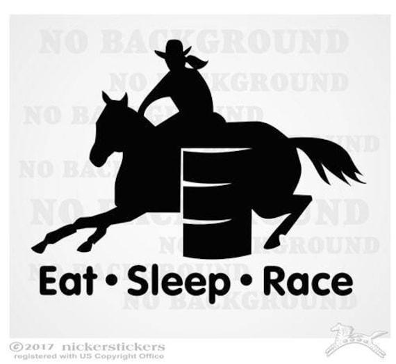 GOT BARRELS BARREL RACING RACER DECAL HORSE STICKER
