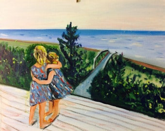 Sold Ten Examples of the Oil Paintings by Marlene Kurland