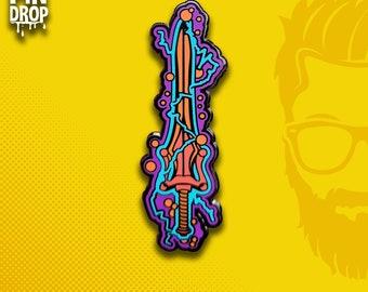 Faker Bots Power Sword  / Hat Pin Lapel Pin