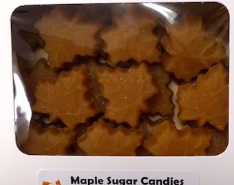 Maple Sugar Leaf Candies with Gift Box