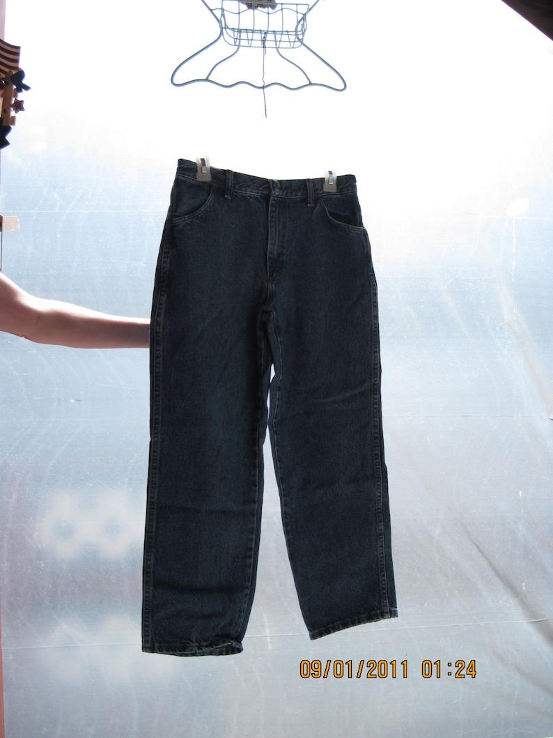 Vintage Boy/'s Rustler/'s Jeans...sz14 husky.....#73..