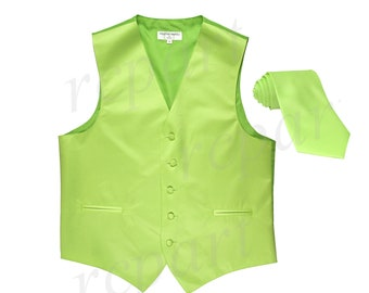 03ca988316708 Lime green vest | Etsy