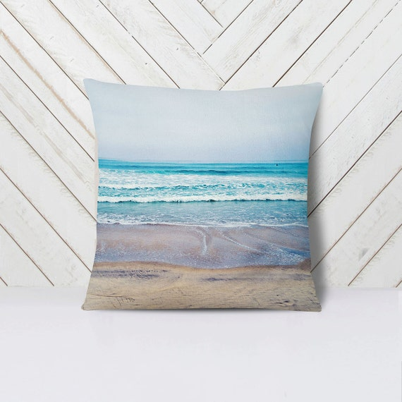 Home Decor San Diego: Beach Pillow Pacific Ocean Decor Summer Home Decor San