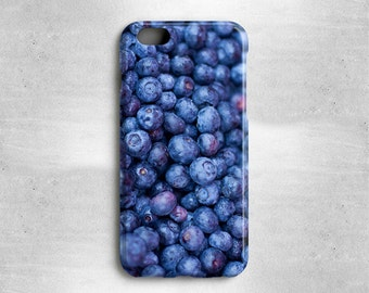 Gifts for Foodies Blueberries iPhone 8 Case - Available for iPhone X, iPhone 7, iPhone 6S, iPhone 6, iPhone 5s, iPhone 5c, iPhone 4s