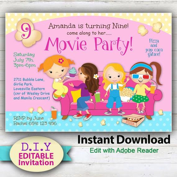 Jouets à Thème Fête D/'Anniversaire Invitations invite Kids Party
