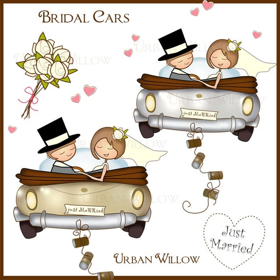 Just Married Clip Art