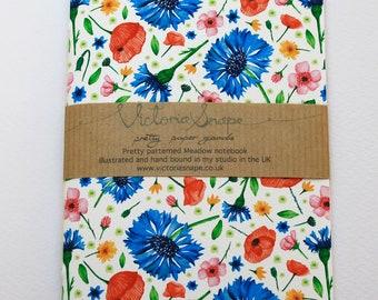 Meadow- hand bound notebook
