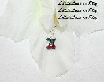 Clit Clip , Non piercing labia clip, Non Piercing Clitoris Labia Intimate Jewelry, Dangle Sexy Wife, Cherry