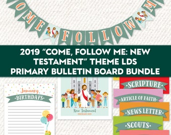 Printable Come Follow Me New Testament Lds 2019 Etsy