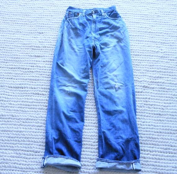 Levis Big E Jeans Selvedge Redline 60s Denim Vinta