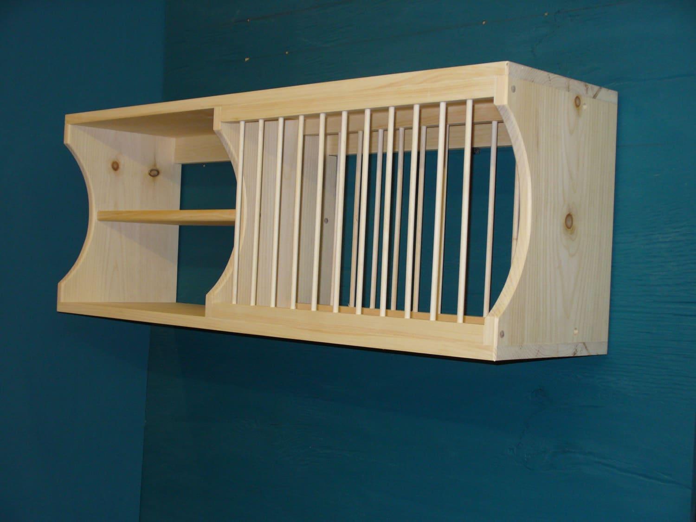 New Modern Cabinet Wood Plate Dish Rack Mugs Glasses Spice Shelf Kitchen  Mug Tea Cup Shelf Organizer