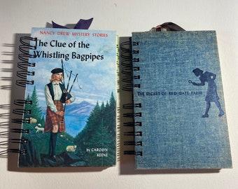 Nancy Drew journals • blank journals • graduation • birthday • guest book • Christmas