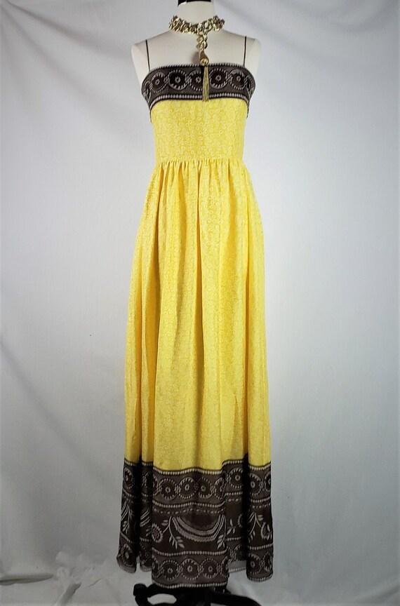 Oscar De La Renta Vintage Silk Printed Corseted Ma