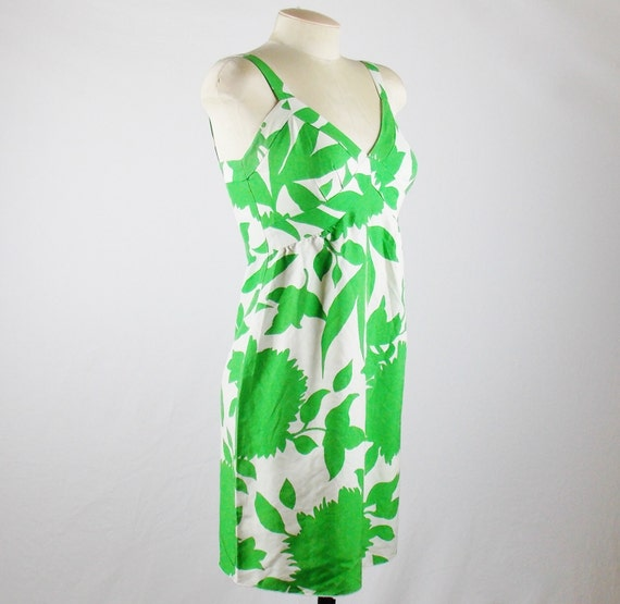 Vintage ANNA SUI Size 2 SUMMER Dress Floral Print… - image 2