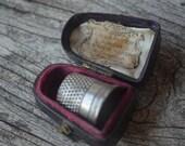 Antique Thimble Case