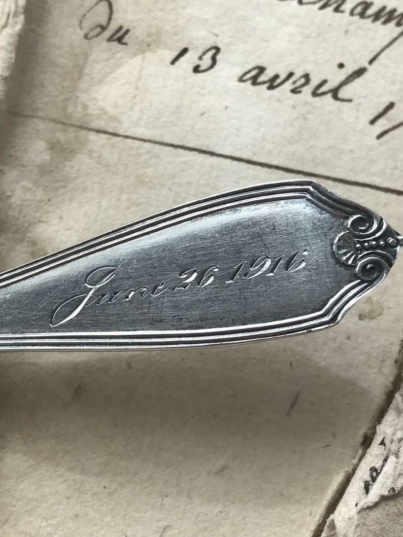 Antique Sterling Spoon