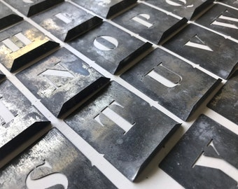 Full Set of Antique French Stencils