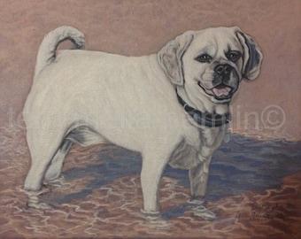 Custom Dog Portrait, 8x10 Pet Portrait, Custom Pet Portrait, Painted Pet Portraits, Dog Portrait Custom, Fathers Day Gift
