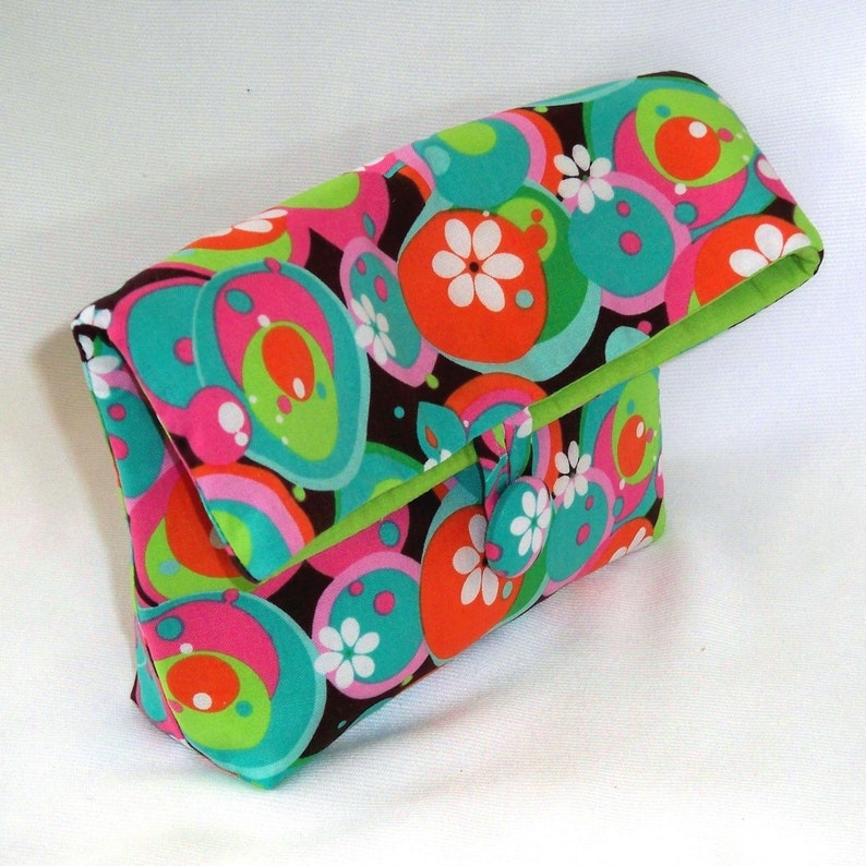 Cosmetic Bag Clutch Purse Makeup Bag Purse Organizer image 0