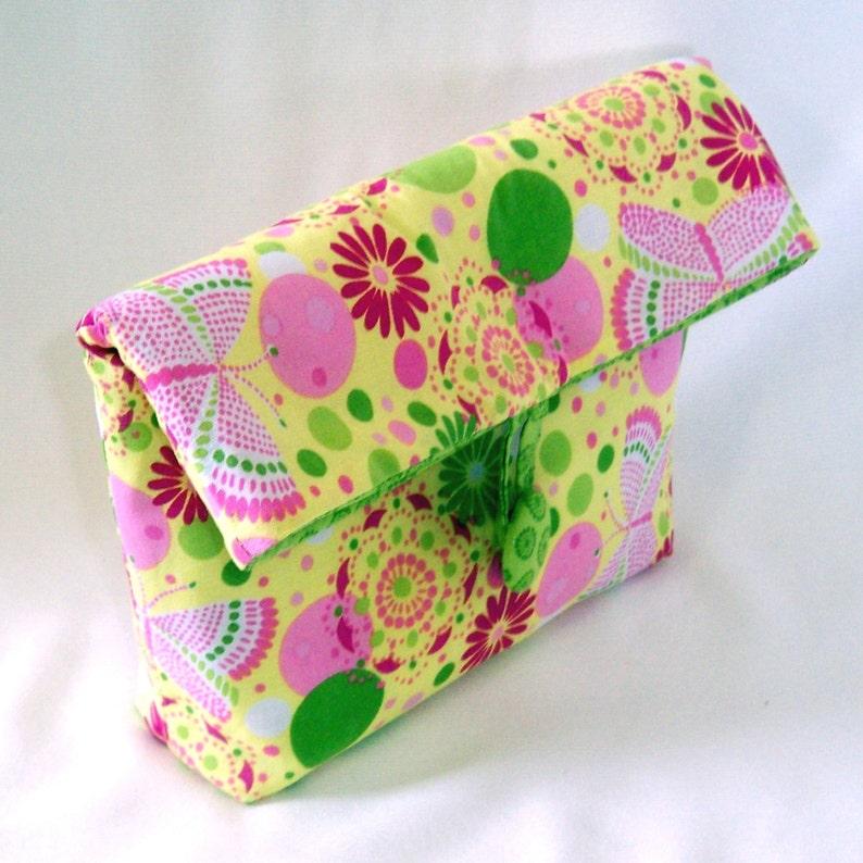 Cosmetic Bag Purse Organizer Clutch Purse Makeup Bag image 0