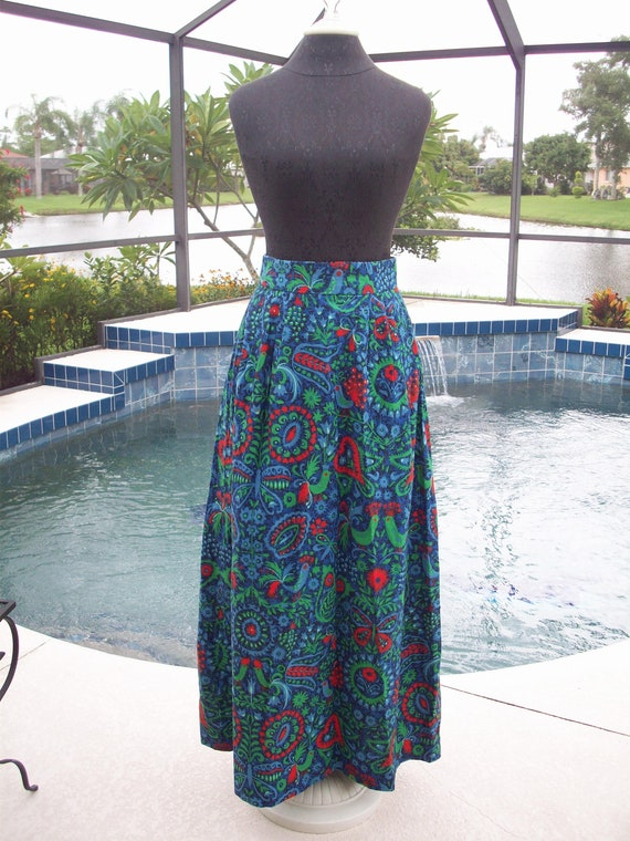 Amazing Anne Fogarty Print Skirt
