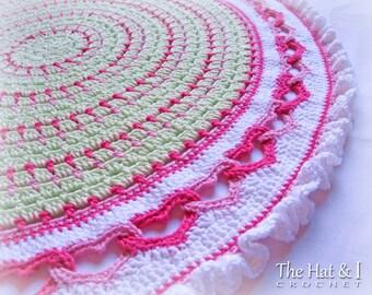 Crochet Blanket PATTERN With All My Heart crochet pattern | Etsy