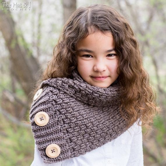 Crochet Cowl Pattern Snuggle Up Scarf Crochet Pattern For Etsy