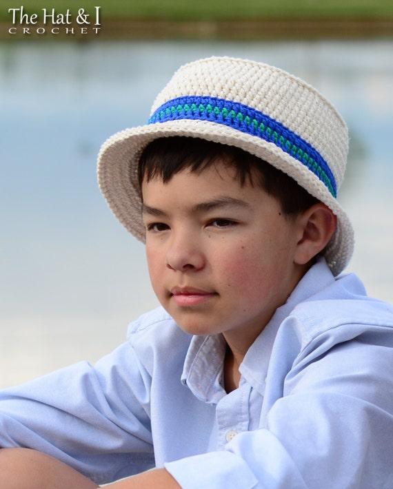 Crochet Hat Pattern Cabana Boy Hat Crochet Pattern For Etsy