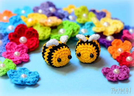Crochet Pattern Busy Bees Crochet Bee Pattern Amigurumi Etsy