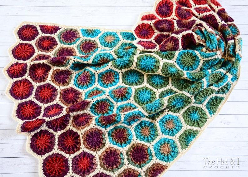 Crochet Blanket Pattern The Dreamer Crochet Pattern Etsy