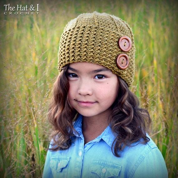 Crochet Hat PATTERN Parisian Dreams crochet pattern for  dbd0ff9922