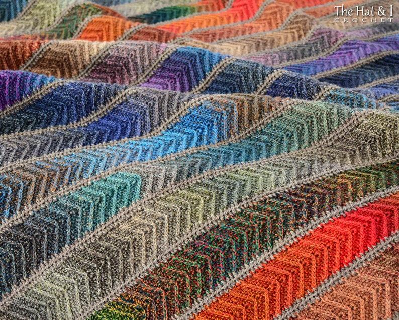 Crochet Blanket Pattern Super Fine Sampler Crochet Pattern Etsy