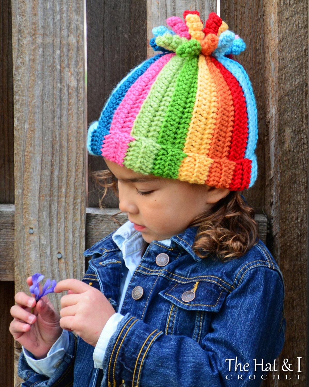 Crochet Hat Pattern Tutti Frutti Crochet Pattern For Boy Etsy