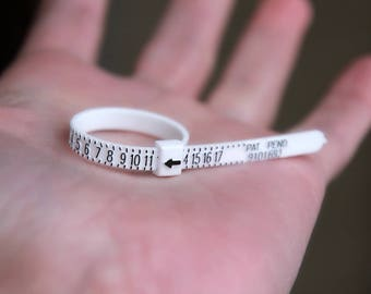 RING SIZER - Multi Ring Sizer - adjustable ring sizer - multi sizer adjustable finger gauge - finger gauge - reusable ring sizer