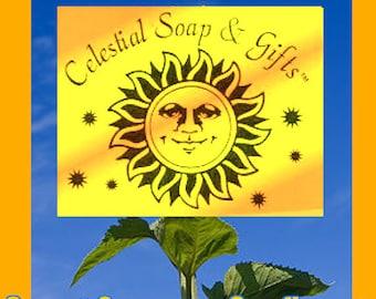 Sweet Orange & Sunflower Natural VEGAN Laundry Soap Powder SAMPLE 5-10 LOADS