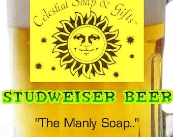 Studweiser Beer Soap: The Manly Soap 3.5 oz. Bar Ginger Lime SALE