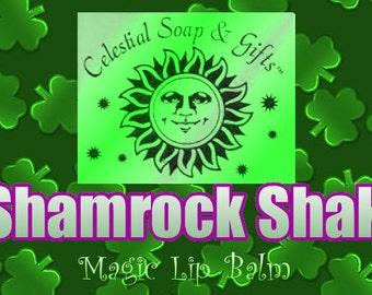 Shamrock Shake Magic Lip Balm .15 oz. Tube Vegan Vanilla Mint