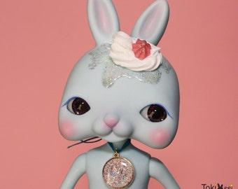 Tokissi / Tokissidoll / bunny / rabbit / sweet / skyblue / cream / gift