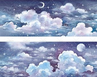 Cloudy Day Washi Tape