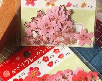 Cherry Blossom Sakura Mini Sticker