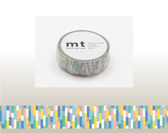 MT bloc bleu Washi Tape (10M)