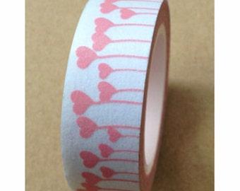 Washi Tape - heart (10M)