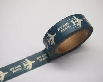 Washi Tape - Air Mail (10M)